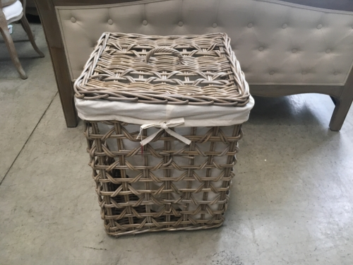 Large Tall Square Basket