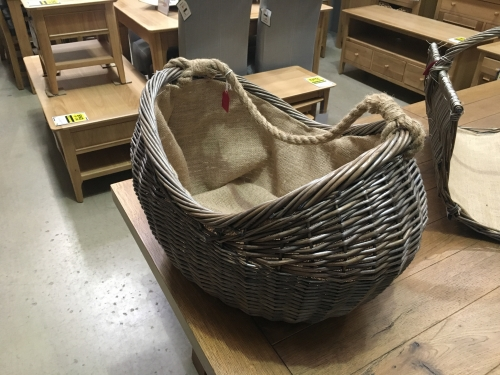 Cradle Log Basket