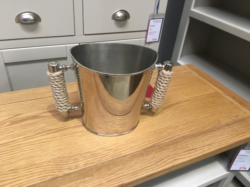 Wine Bucket With Rope Handle