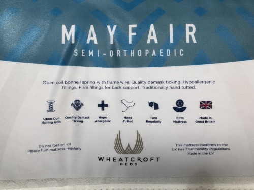 Mayfair Orthopedic 3ft Single Mattress