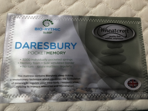 Daresbury 6ft 3000 Pocket Sprung With 3