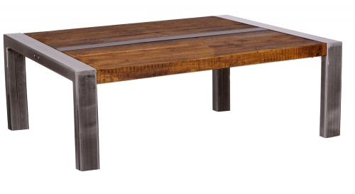 Grafton Industrial Coffee Table 120 x 90