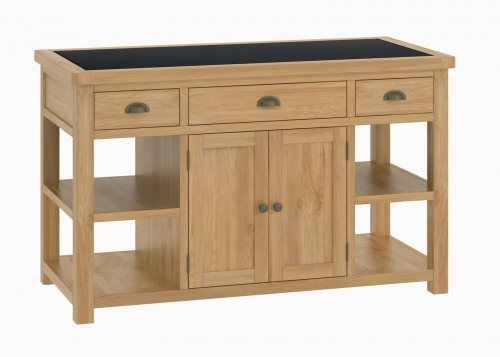 Brompton Oak Large Island Unit
