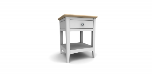 Devon Grey Painted Lamp Table