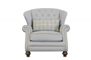 Marlow Fabric Wing Chair
