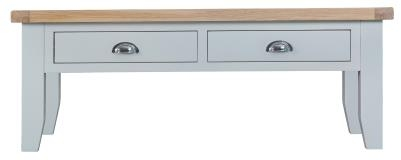 Thornton Painted Oak White Large Coffee Table