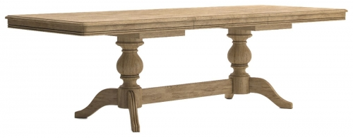 Biarritz French Oak Large Extending Dining Table