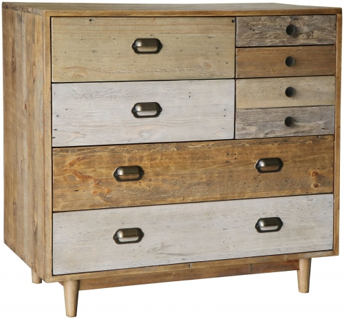 Derwent Reclaimed Pine 7 Drawer Chest