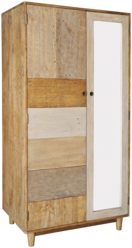 Derwent Reclaimed Pine Double Wardrobe
