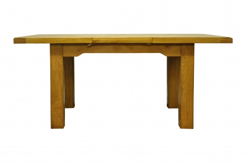 Priory oak 1 3m butterfly extending table furniture for Monastery extension dining table