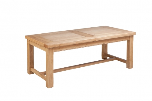 Hebden Solid Oak Large Extending Dining Table