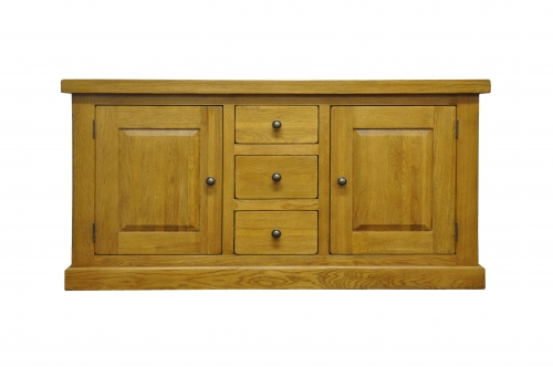 Priory Oak Large Cupboard