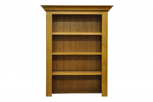 Priory Oak Small Bookcase Top
