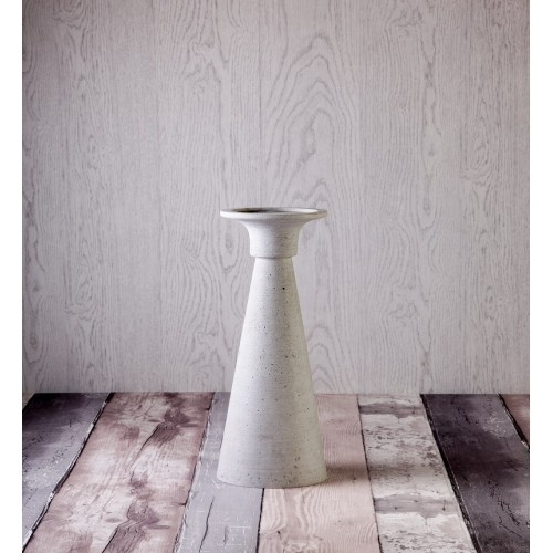 Light Grey Candle Holder