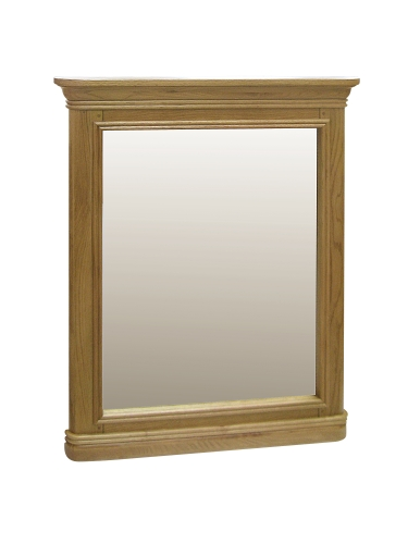 Rochelle French Oak Small Mirror