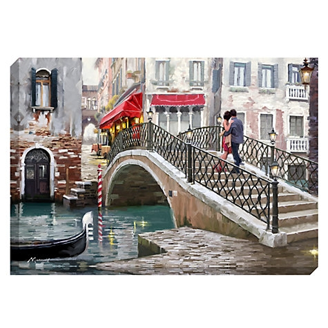 Lovers Venice Bridge