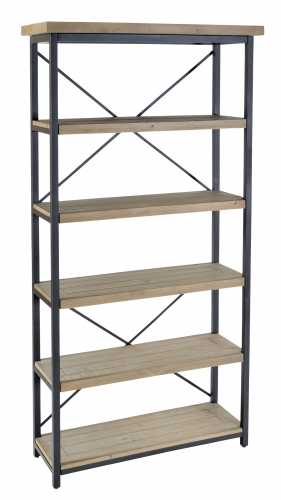 Lockton Industrial Timber Display Unit