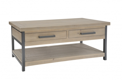 Lockton Industrial Timber Coffee Table