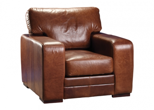 Luca 1 Seat Leather Chair