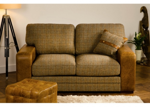 Luca 3 Seater Leather Sofa