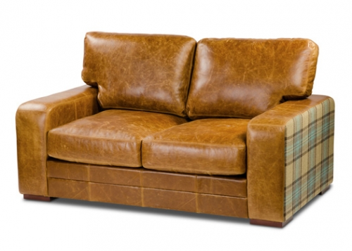 Luca 4 Seater Leather Sofa