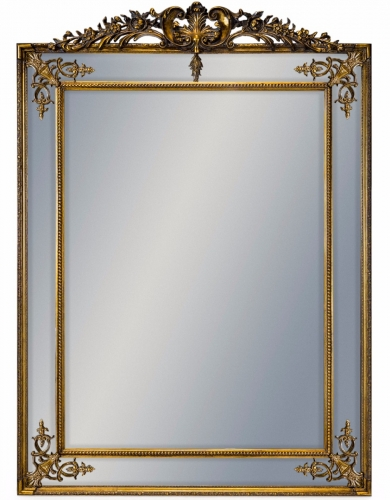 Large Gold French Mirror