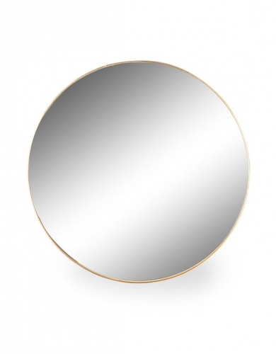 Extra Large Round Gold Framed Arden Wall Mirror