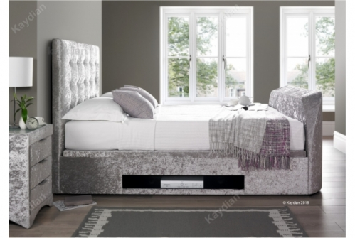 Boynton TV Bed and Ottoman Storage Bed 4ft6