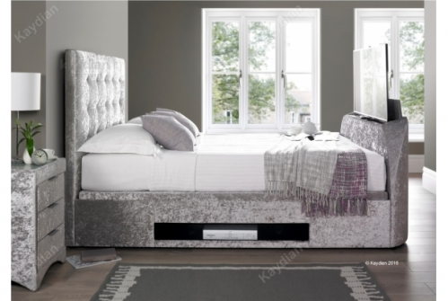 Boynton TV Bed and Ottoman Storage Bed 6ft