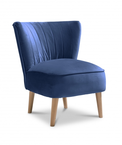 Paris Accent Chair - Plush Marine