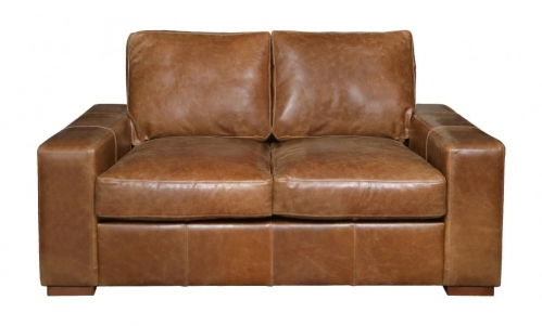 Barrington 2 Seat Leather Sofa