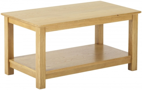 Bergen Light Oak Coffee Table