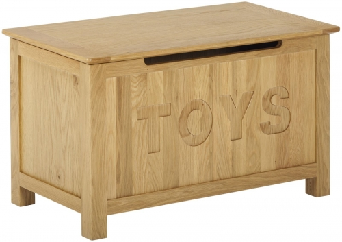 Bergen Light Oak Toy Box