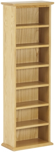 Bergen Light Oak Double CD Tower