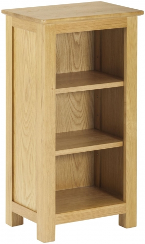 Bergen Light Oak Mini Bookcase