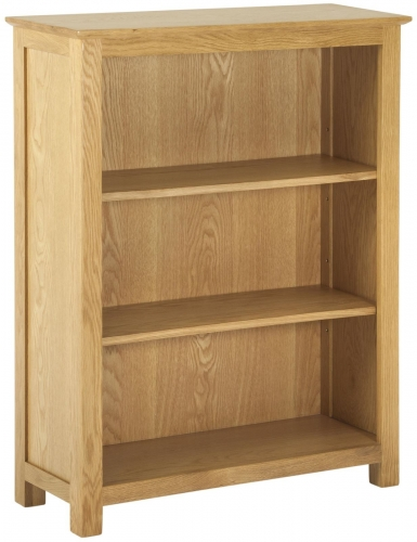 Bergen Light Oak Small Bookcase