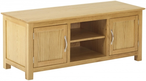 Bergen Light Oak Plasma TV Cabinet