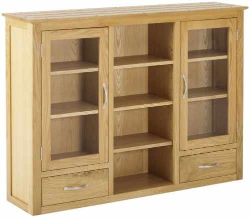 Bergen Light Oak 3 Door Dresser Top