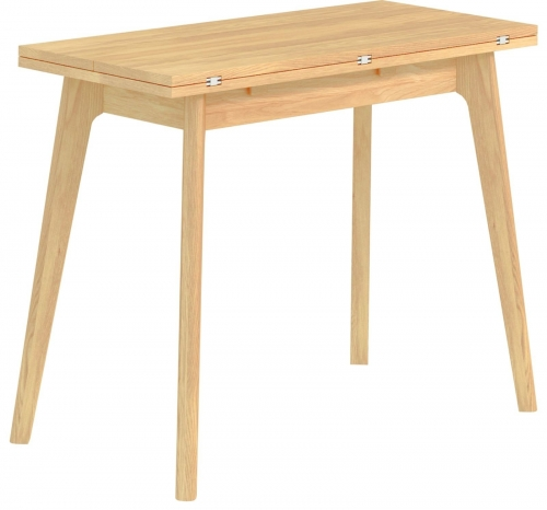 Bergen Light Oak Folding Table
