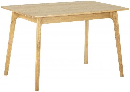 Bergen Light Oak Rectangular Dining Table