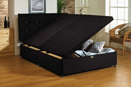 Ottoman Storage Bed - 6ft