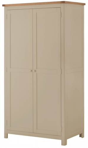 Brompton Pebble 2 Door Wardrobe