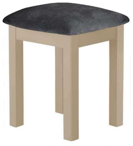 Brompton Pebble Dressing Table Stool