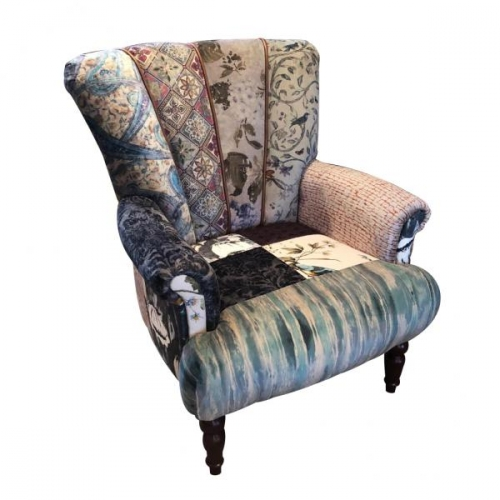 Heritage Patchwork Fitzroy Chair