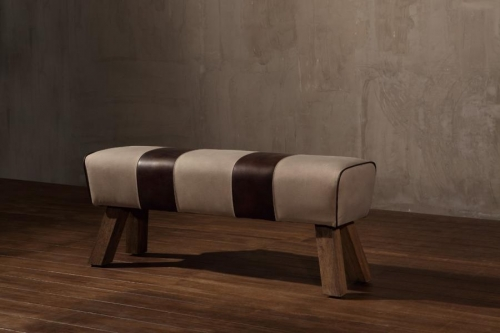 Large Pommel Canvas Bench Seat