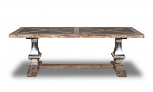 Portland Double Pedestal Dining Table