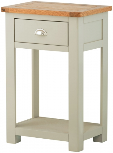 Brompton Stone 1 Drawer Console Table