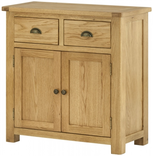 Brompton Oak 2 Door Sideboard
