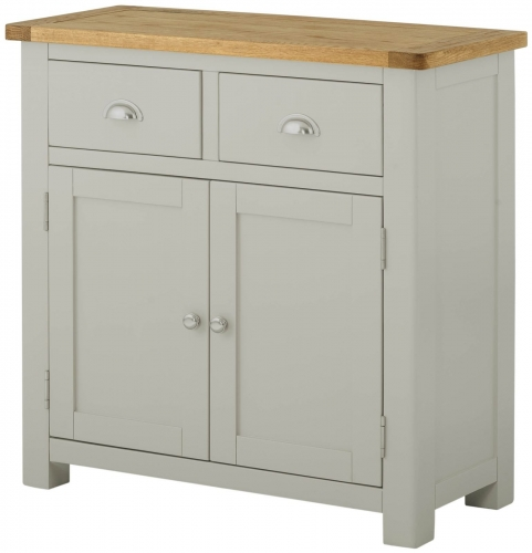Brompton Stone 2 Door 2 Drawer Small Sideboard