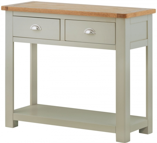 Brompton Stone 2 Drawer Console Table